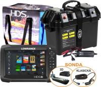 AKCIA HDS-7 Chirp+3Dsonda,powerbox,akumulátor,profibox