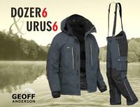 Oblečenie Geoff Anderson Dozer 6 + Urus 6 - čierne