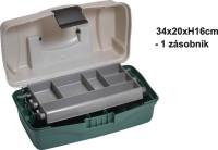 Rybársky kufrík - jedno poschodie - 34x20x16cm