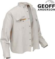 Rybárske košele Geoff Anderson Polybrush 2 - piesková