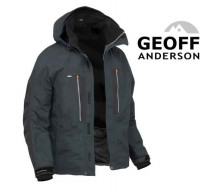 Čierna bunda Geoff Anderson Dozer 6