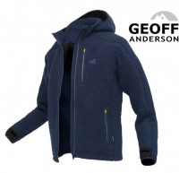 Geoff Anderson mikina Teddy - modrá