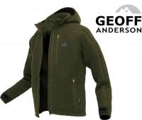 Geoff Anderson mikina Teddy - zelená