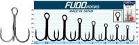 Trojháčiky na dravce Fudo Hooks Treble 6ks
