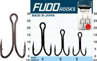Dvojháčiky na dravce Fudo Hooks Double 7ks