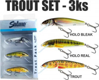 SALMO Trout Pack voblery - 3ks/5cm
