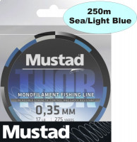 Mustad spletaná šnúra Thor Braid ML015, 250m