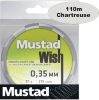 Mustad spletaná šnúra Wish Braid ML022, 110m