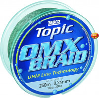 Zebco Topic OMX Braid green 250m