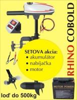 AKCIOVÝ SET Rhino Cobold + akumulátor 17Ah