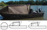 Bivak na čln Special Boat Cave II 335x220cm