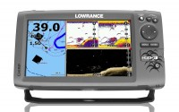 Sonar so sondou na More - LOWRANCE Hook-9 s GPS