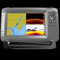 Sonar Lowrance Hook 2 - 7X + sonda SplitShot