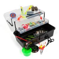 Rybársky kufrík + MAXI výbava