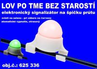 Elektronický signalizátor záberu na špičku