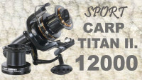 Navijak SPORTS CARP TITAN II 12000 - dvojbrzdový