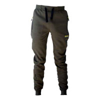 Kaprárske nohavice s vreckami FAITH - olivové