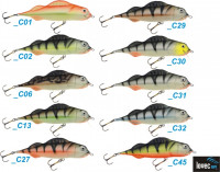 Lovec Rapy Power Perch-long, 2,5cm