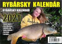 Stolový rybársky kalendár na rok 2021